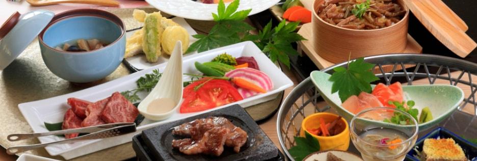 写真:地元食材を使ったお料理のイメージ