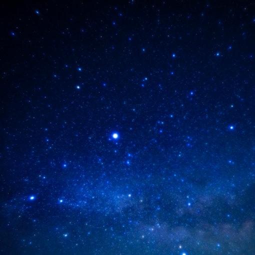 写真:南会津の星空