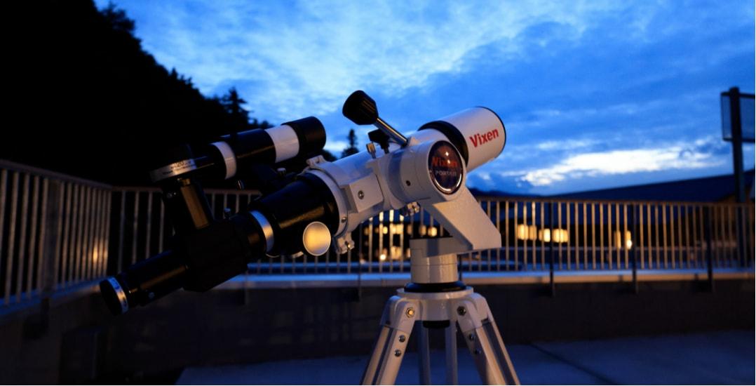 写真:Vixenの天体望遠鏡